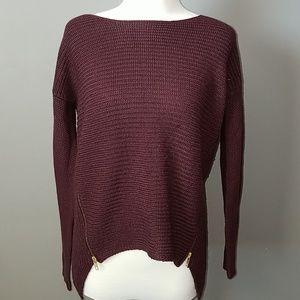 Bar lll Side Zip Cozy Sweater